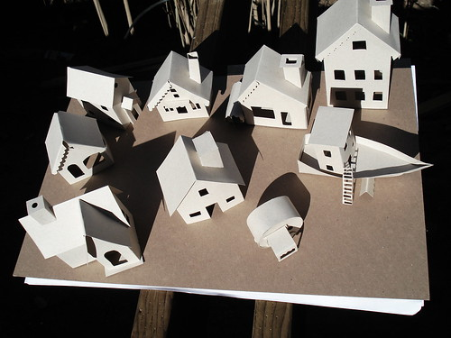 Little paper houses - unfinished | by verpabunny