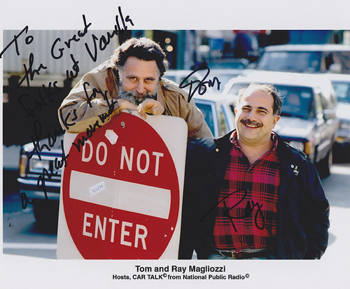 Tom and Ray Magliozzi - Hosts of Car Talk | by vanillaforums