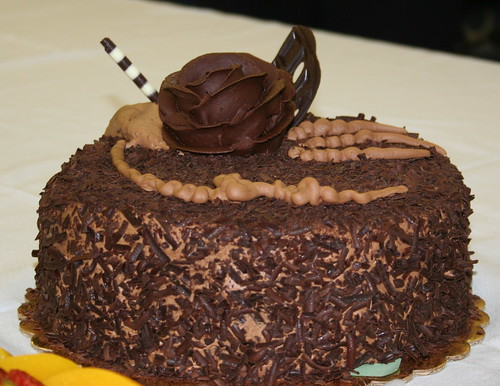 One of grandpa's chocolate cakes | by *mia*