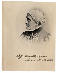 Susan B. Anthony signed portrait | by uncgspecial