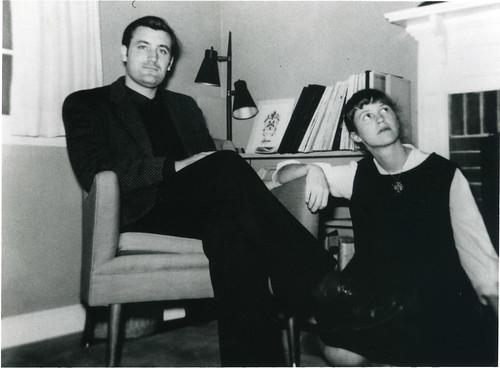 Sylvia Plath and Ted Hughes | by Faber Books