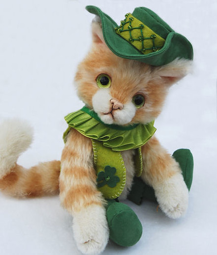 St. Patrick's Puss in Boots | by lollihops