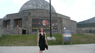 Jessica at the planetarium | by pacificpelican