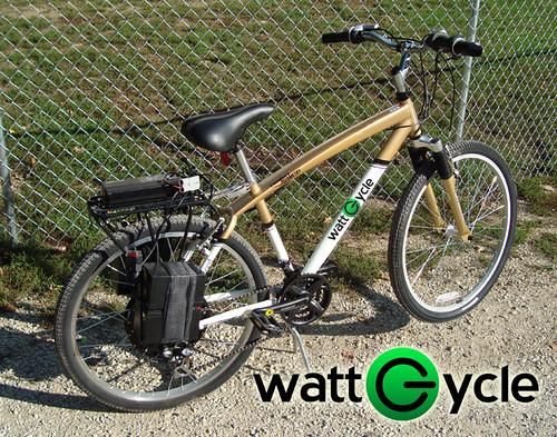 Converted Electric E Bike Kit We Used A 99 Schwinn Cru