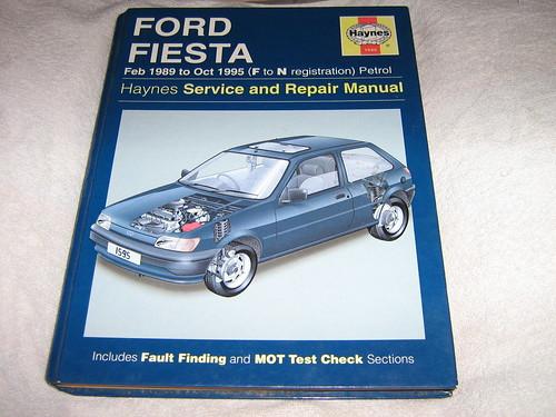 ford fiesta owners workshop manual    haynes pe