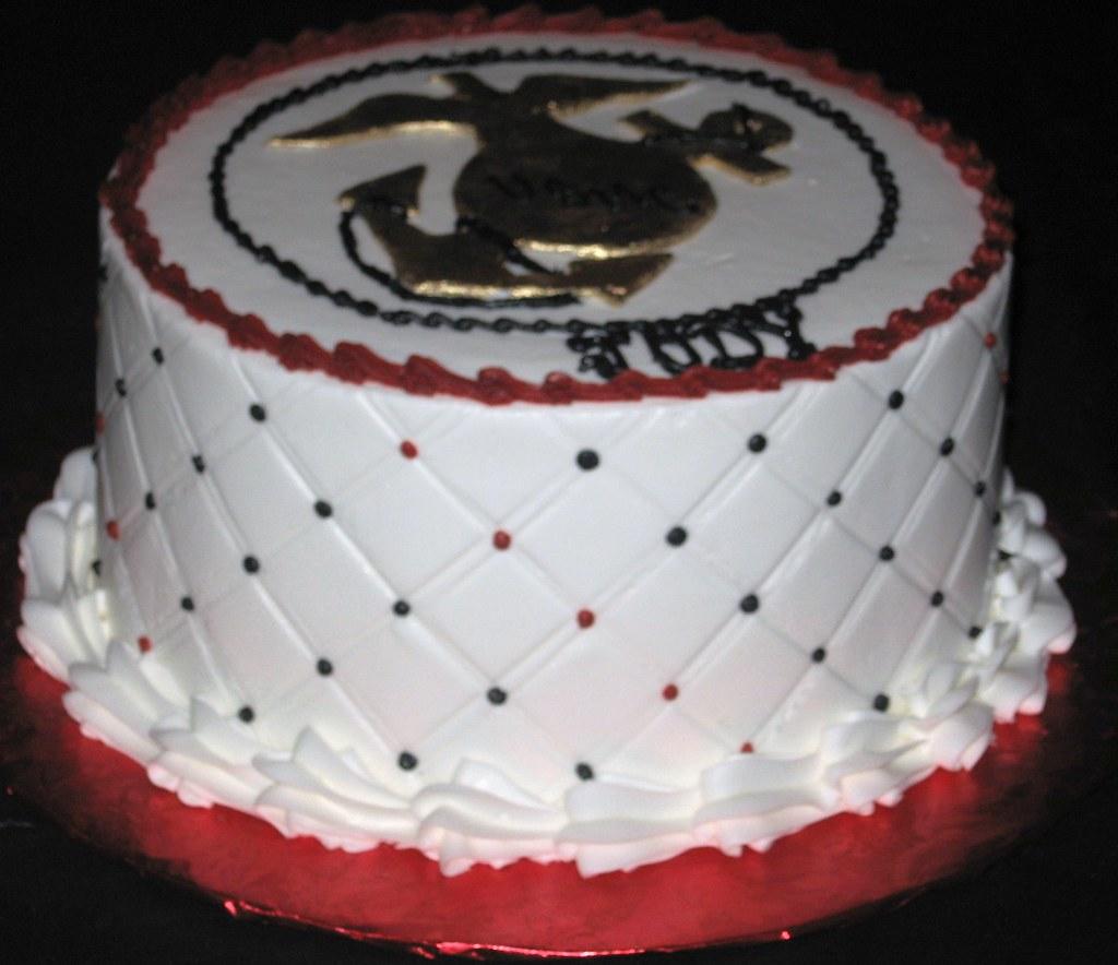 Marine Corps Birthday Cake Tslcakes Flickr