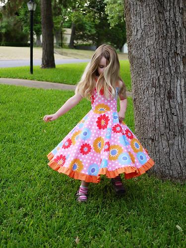 Sew Sweet Patterns Twirly Dress Wwwgreatjencreations Flickr Mesmerizing Sew Sweet Patterns