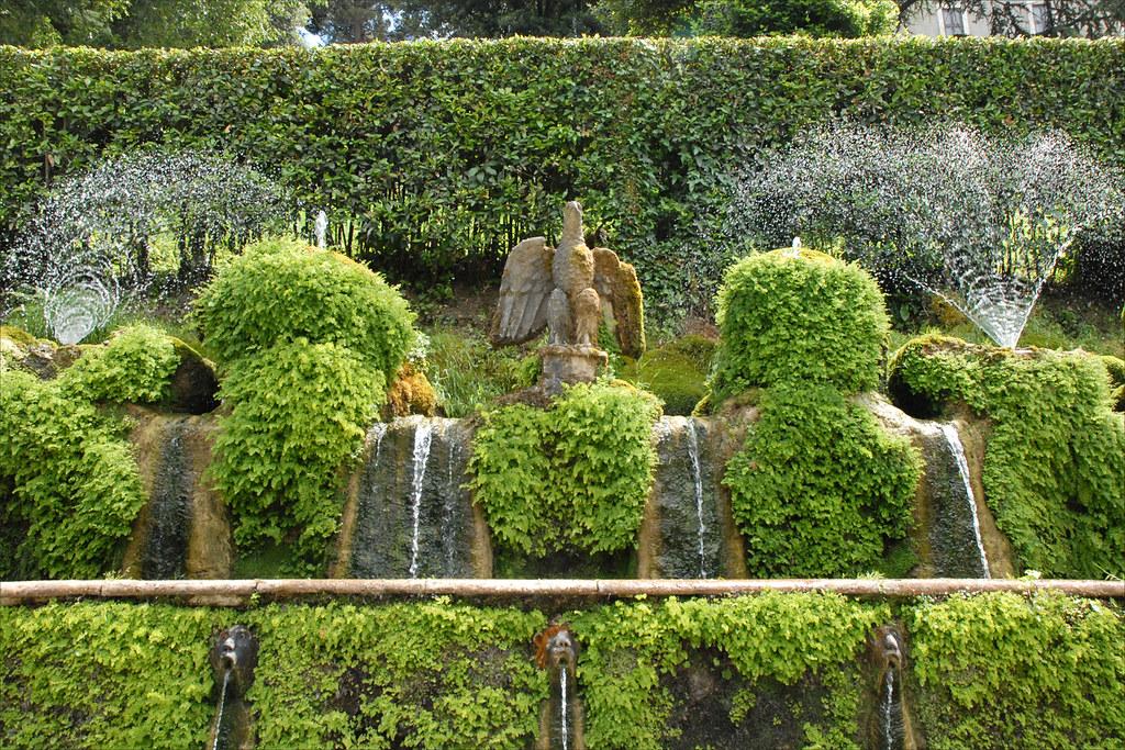 fontaines de lalle aux cent fontaines tivoli by dalbera - Jardins De Tivoli