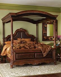 hand carved mahogany bed frame by presleys - Mahogany Bed Frame