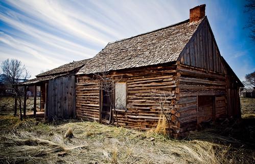 Log Cabin Home Utah Sam Scholes Flickr