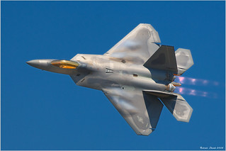 F-22 Raptor | by Rob Shenk