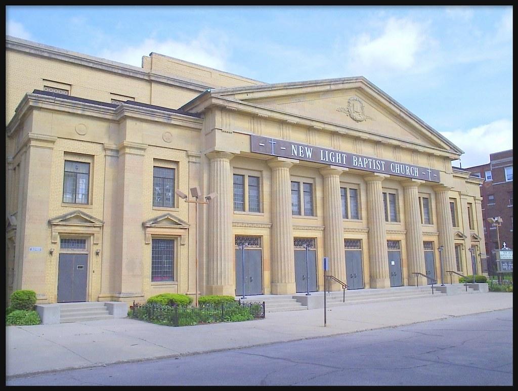 ... New Light Baptist Church (Formerly Fourth Church Of Christ,  Scientist)  Detroit