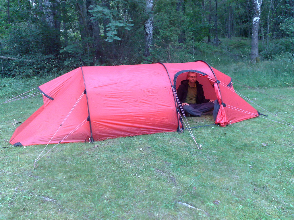 ... Our new tent a Hilleberg Nammatj 2GT | by mismisimos & Our new tent a Hilleberg Nammatj 2GT | - Camera phone uploau2026 | Flickr