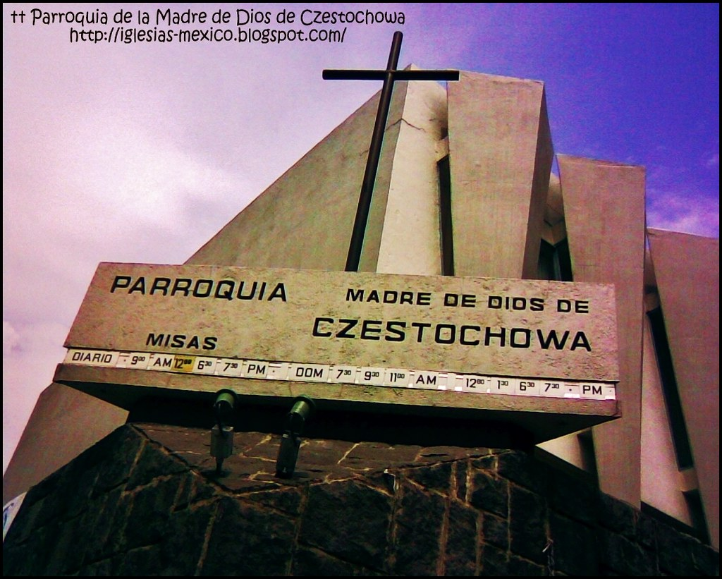 0473 Parroquia Madre De Dios De Czestochowa Lomas De Tecamachalco