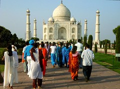 Taj Mahal - Hindi: ताज महल; Persian/Urdu: تاج محل  - symbol of love in India. | by Ginas Pics