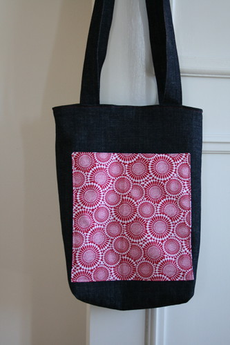 Denim tote - by Little Mary Moo | by WheresBeckybean