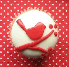 red robin cupcake | by hello naomi
