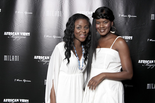 Presenters, Belle Niba and Actress/Director Tangi Miller | by africanvibes