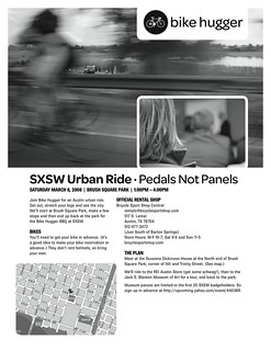 Urban Ride Flyer | by Hugger Industries