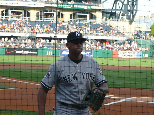 A-Rod warming up | by raisethejollyroger dot com