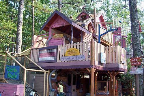 Children's Fantasy Treehouse | Stone Mountain Park, Stone Mo… | Flickr