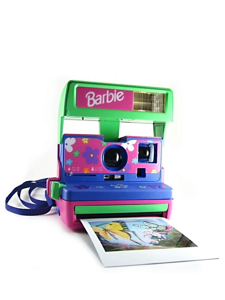 Barbie Polaroid Instant Camera | I got this at my favorite c… | Flickr