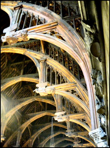 Westminster Hall Medieval Hammer Beam Roof Structure Flickr