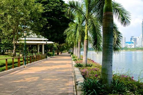 Benjakiti Park in Bangkok, Thailand  Uwe Schwarzbach  Flickr