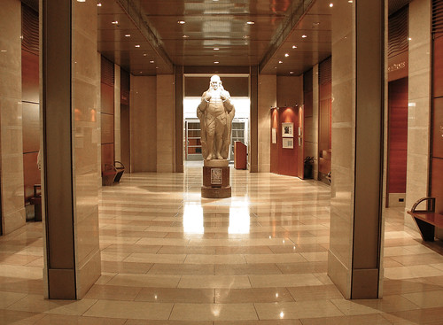 Foyer Museum Zip Code : National postal museum foyer lobby with statue of ben