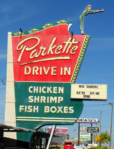 KY, Lexington-U.S. 25 Bypass Parkette Drive-In Sign | by Alan C of Marion,IN