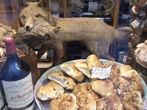 stuffed fox and rustic bread | by :: Wendy ::