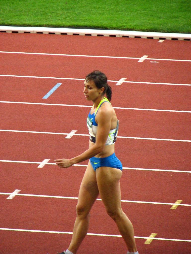 photo Kim Gevaert sprint runner