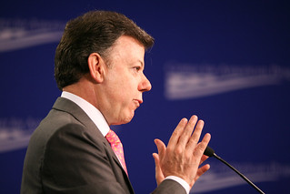 Colombia Defense Minister, Juan Manuel Santos | by Center for American Progress