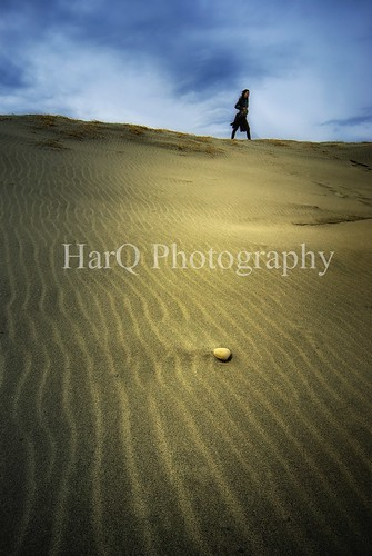 A woman on the dune | by HarQ Photography