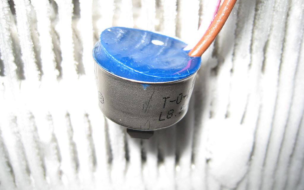 Broken Defrost thermostat