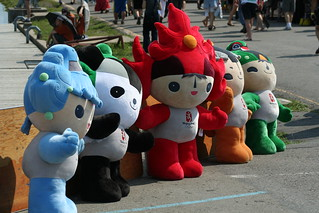 Beijing Mascots at the Dragon Boat Races | by DavidJNoel