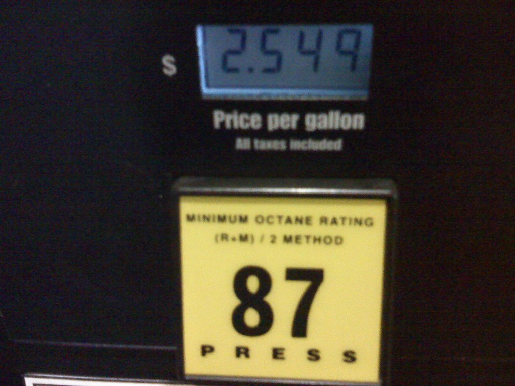 gas at costco in santee california this is a good p flickr 2 54 gas at costco in santee california by slworking2