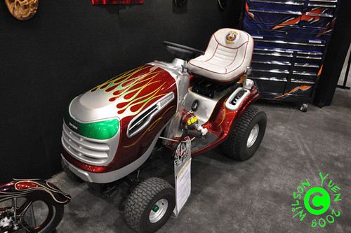 House Of Kolor Custom Painted Craftsman Lawn Tractor
