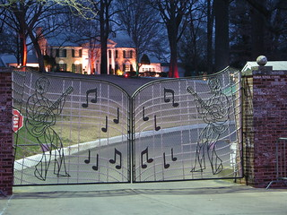 Graceland at Night | by Richard and Cindy Krause