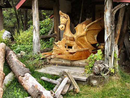 Wood carving in wisconsin tim archibald flickr