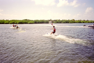 Club Med Cancun - Water ski | by Sue L C