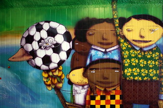 os gemeos football fans | by Luna Park