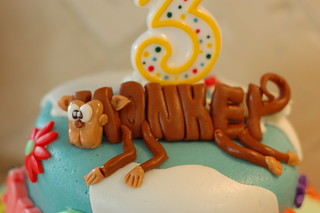 Word World Cake Close-UP | by Dusti's Cupcakes