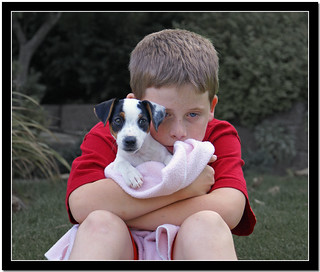 Just a boy and his dog | by Carplips