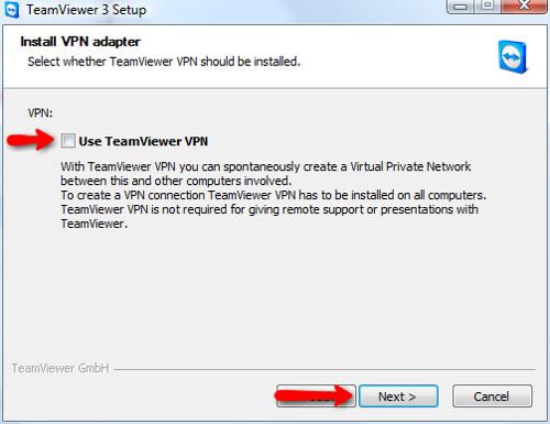 how to setup teamviewer vpn pdf