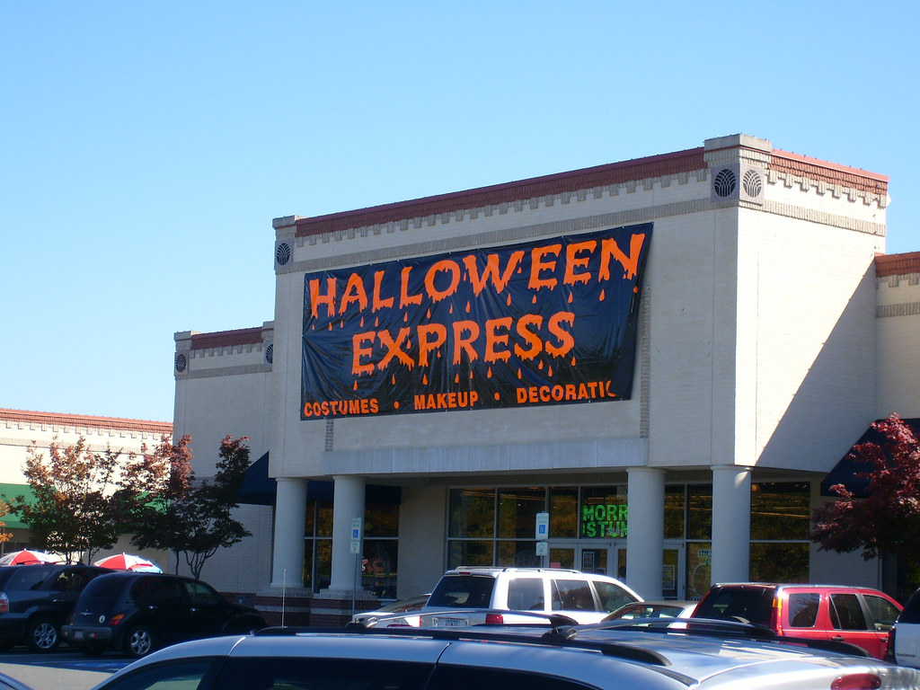 halloween express | at the arboretum, charlotte, nc