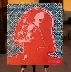 Painting of Darth Vader Star Wars by DILLON | by DILLON BOY
