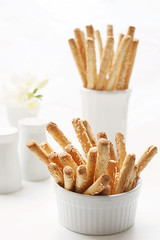 Sesame bread sticks | by BAs cooking