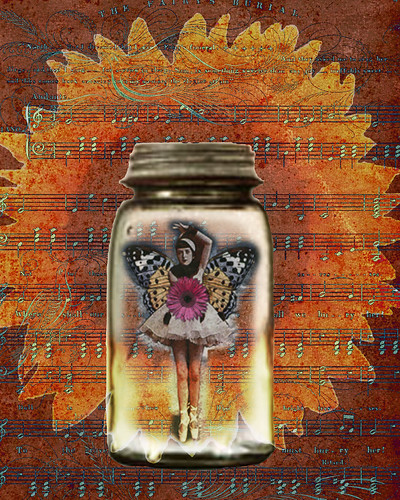 Fairy in a Jar | by queen bee you see