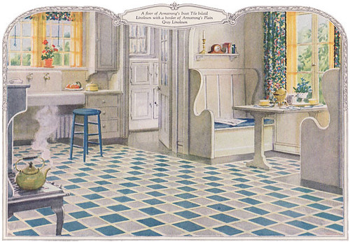 1924 Armstrong Linoleum Ad For Kitchen Every Time I Find